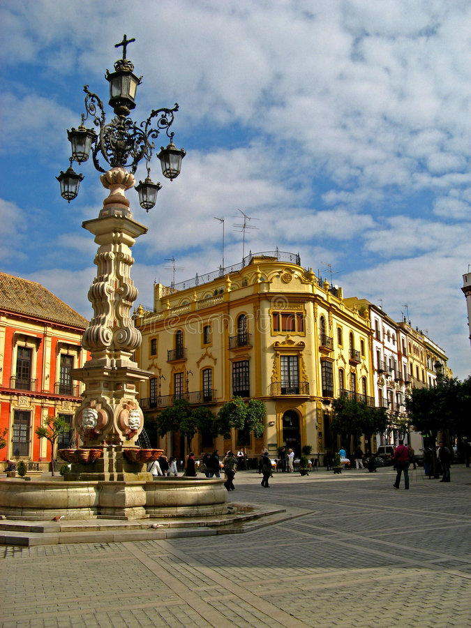 Sevilla, Spanien 01 lizenzfreie stockbilder