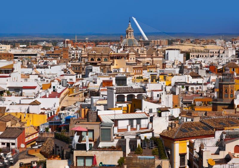 Sevilla Spanien arkivfoton