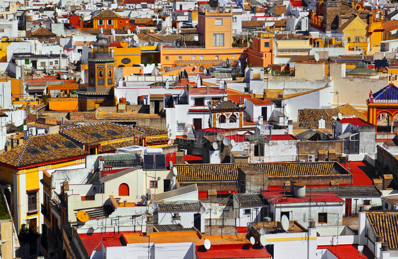 Sevilla Spanien lizenzfreie stockfotografie