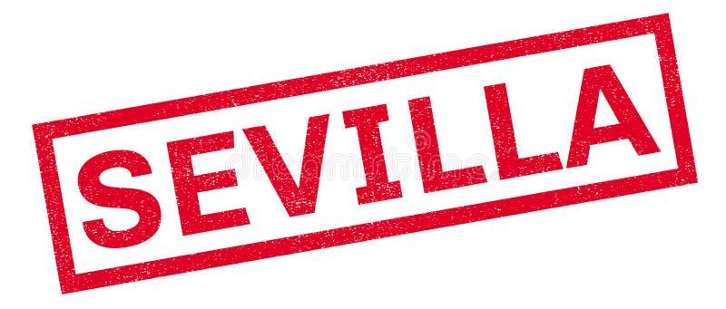 Sevilla-Stempel lizenzfreie abbildung
