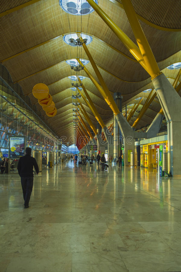 Seville airport stock image