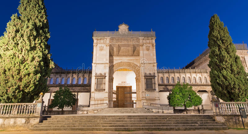 Seville - The Archaeological museum stock images