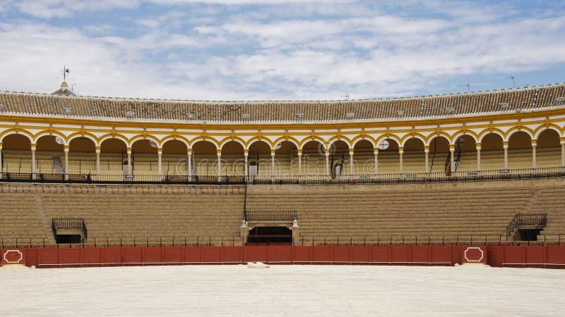 Seville bullring royalty free stock photo