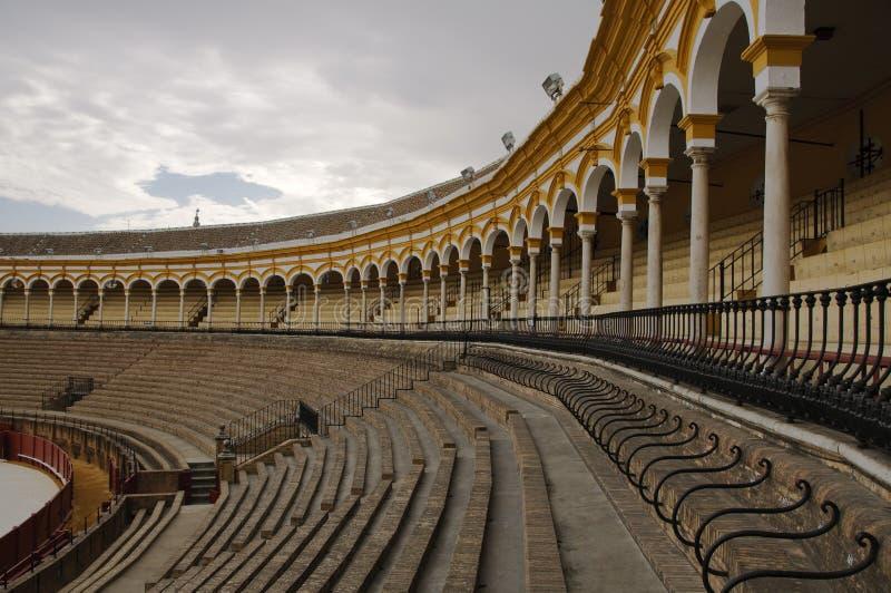 Seville bullring stock photography