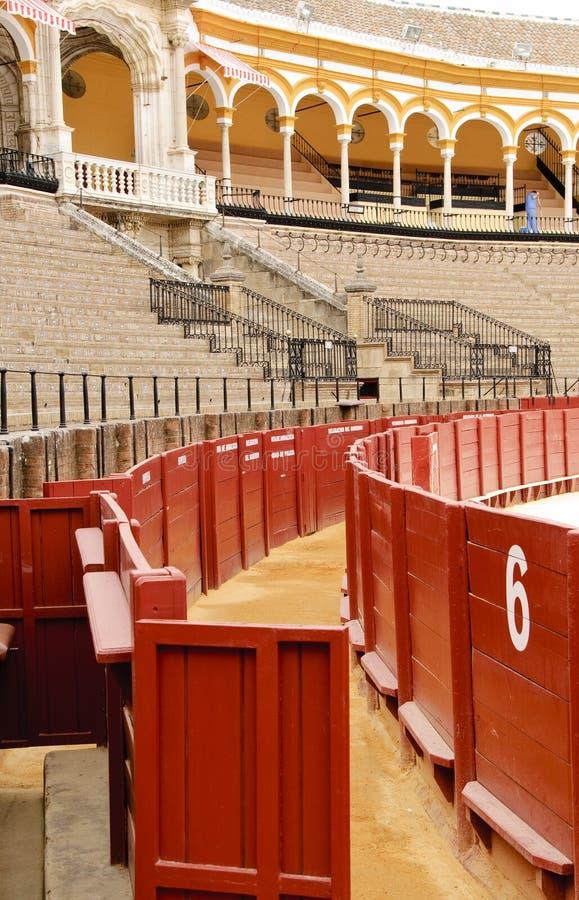 Seville bullring - Gate Number 6 stock image