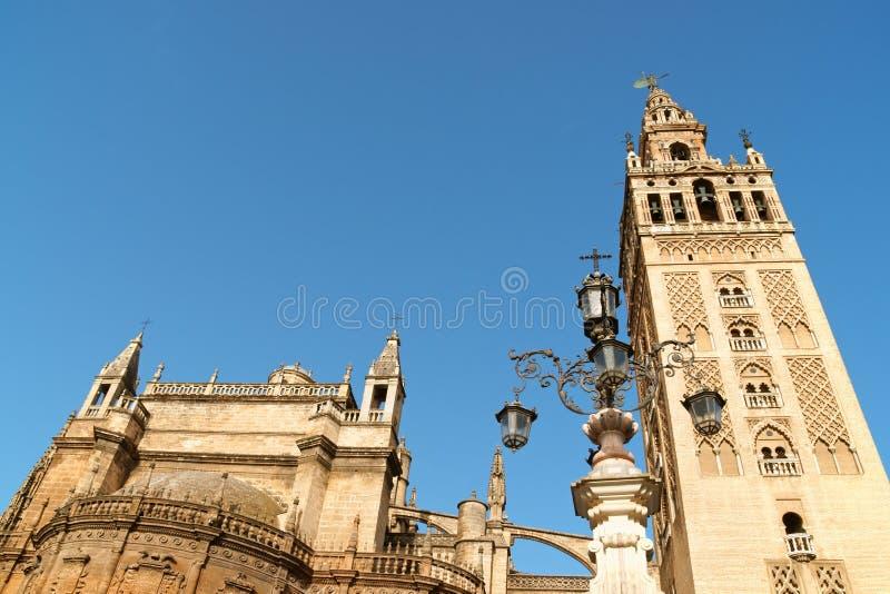 Seville domkyrka arkivfoton