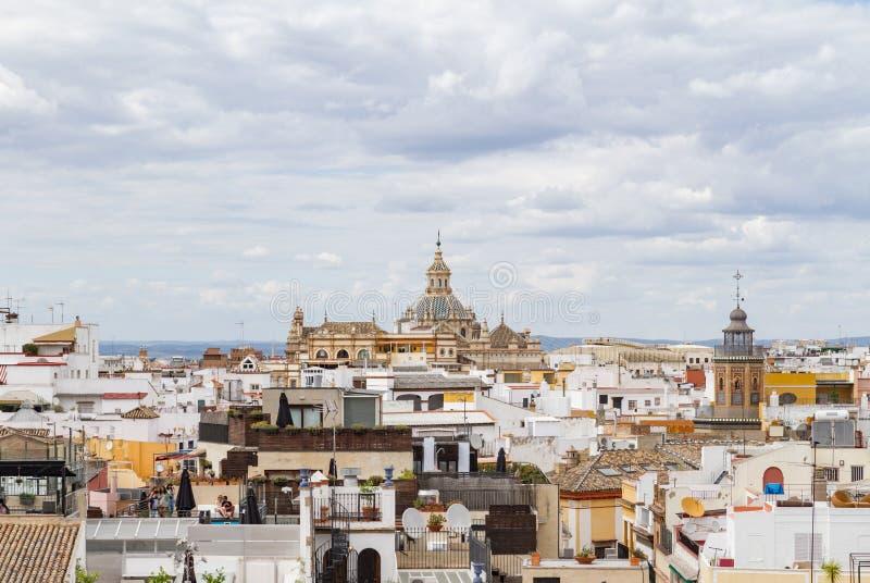 Seville& x27; igreja de s de San Luis de Los Franceses fotos de stock