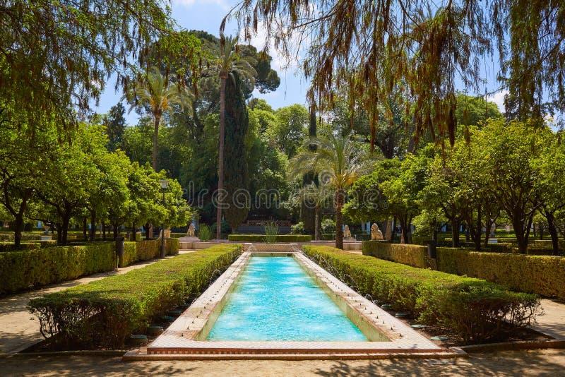 Gardens By Maria: Maria Luisa Garden, Seville, Andalusia, Spain Stock Image