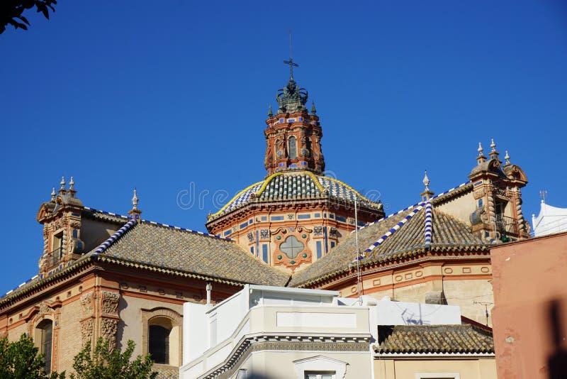 Seville miasta widok zdjęcie stock