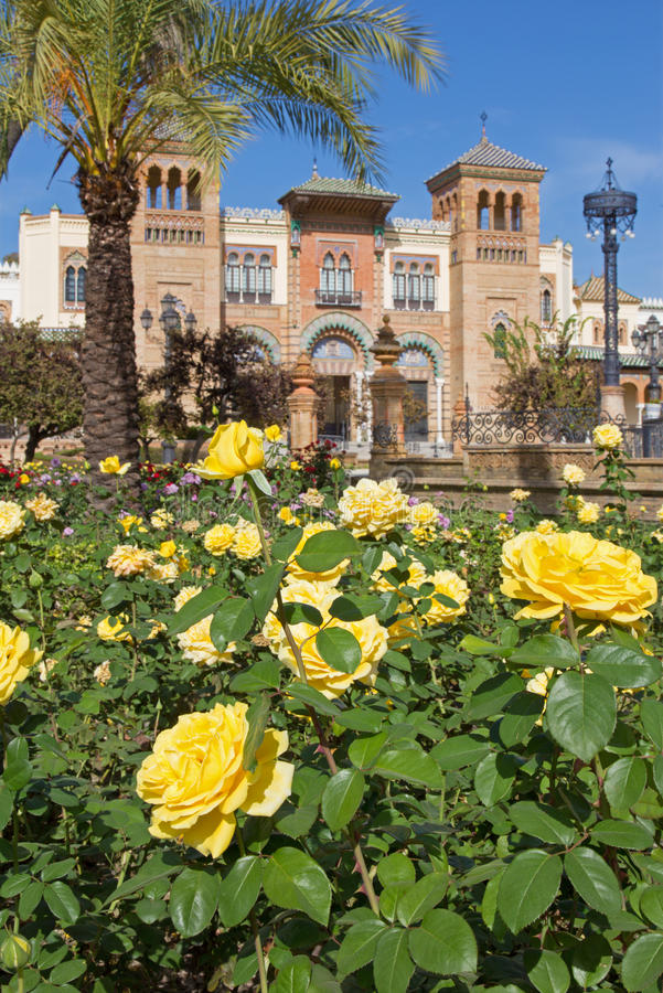 Seville - The Museum of Popular Arts and traditions stock photos