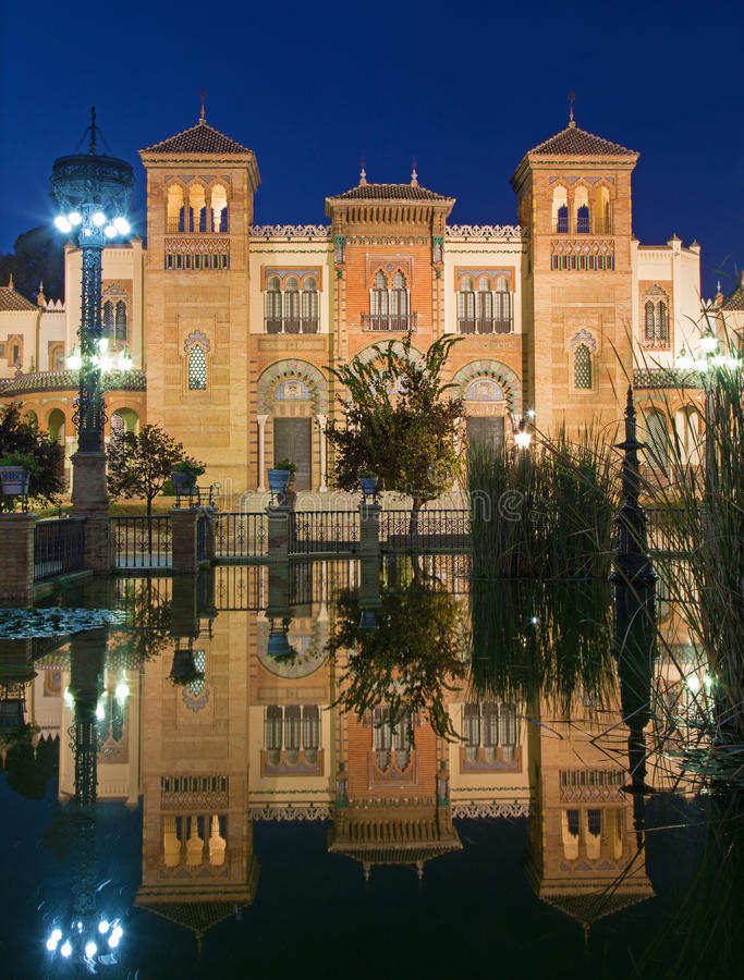 Seville - The Museum of Popular Arts and traditions (Museum of Artes y Costumbres Populares) royalty free stock photos
