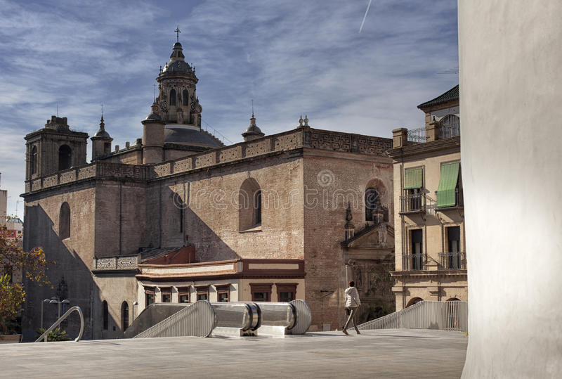 Seville, old town, historic buildings. Spain. stock photography