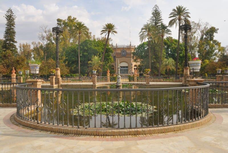 Seville park royalty free stock image