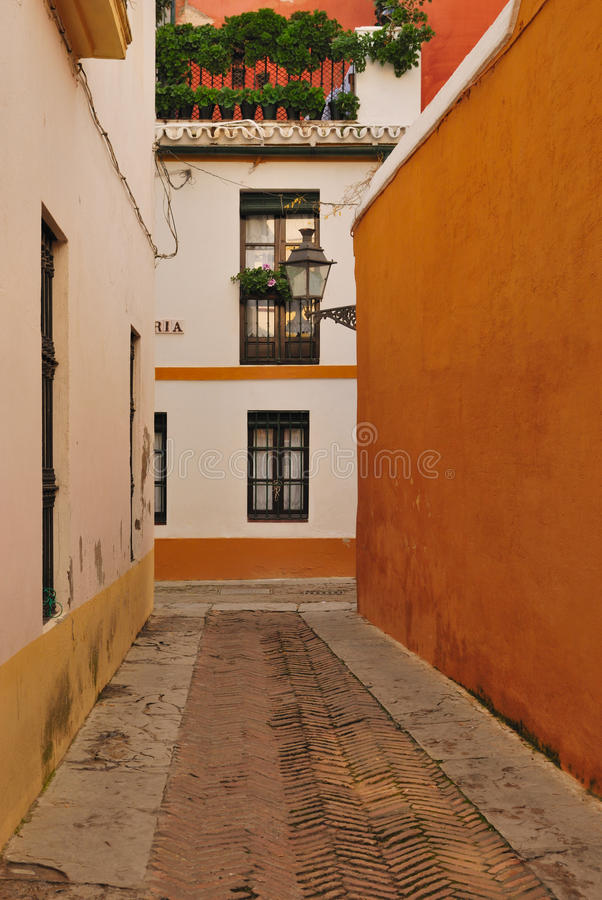 Seville's old Jewish quarter stock photos