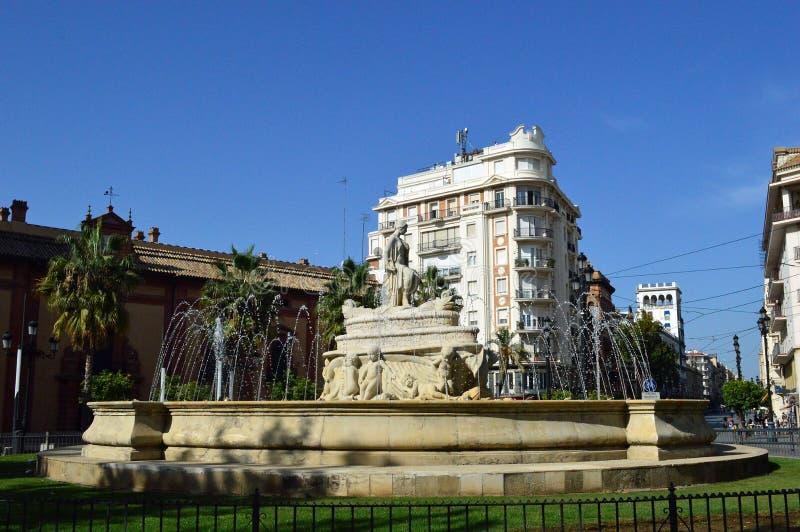 Seville ` s Puerta De Jerez obraz stock