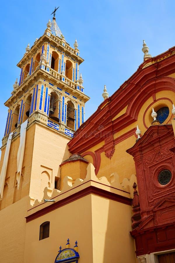 Free Seville Santa Ana Church In Spain At Triana Royalty Free Stock Photos - 80870948