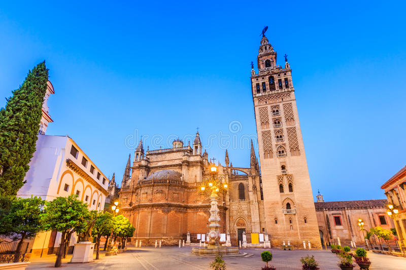 Seville, Spain. royalty free stock images