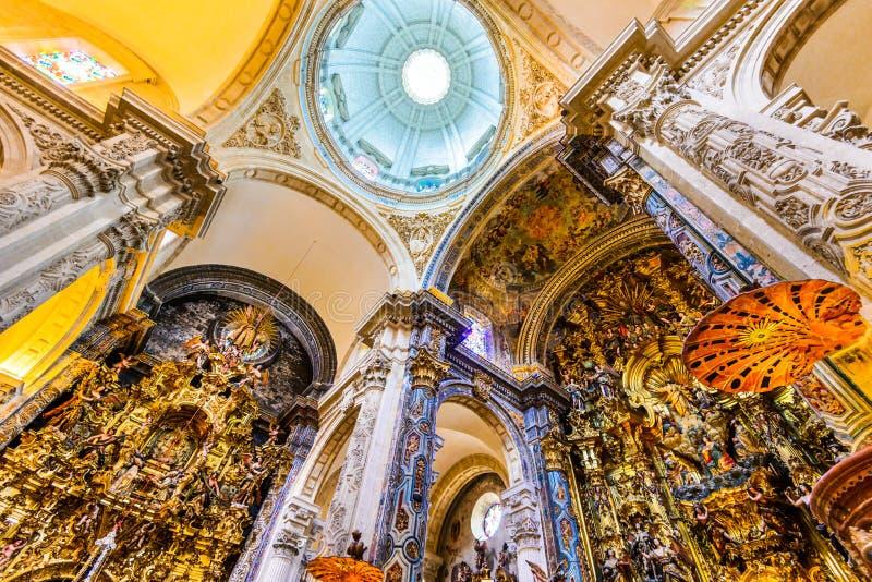 Seville, Spain - Church El Salvado royalty free stock images