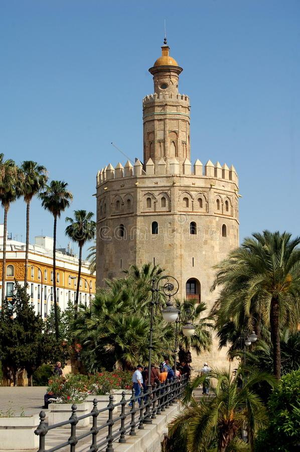 Download Seville, Spain:  Torre De Oro (Gold Tower) Editorial Image - Image: 19431355