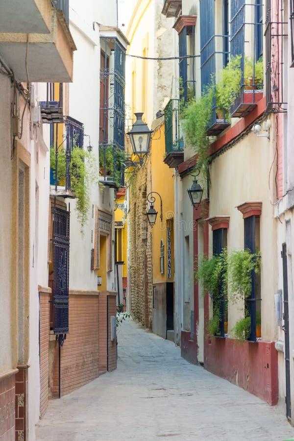 Seville street stock photos