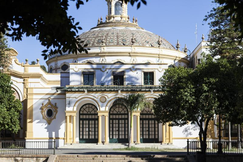 Seville Teatro Lope de Vega royalty free stock images