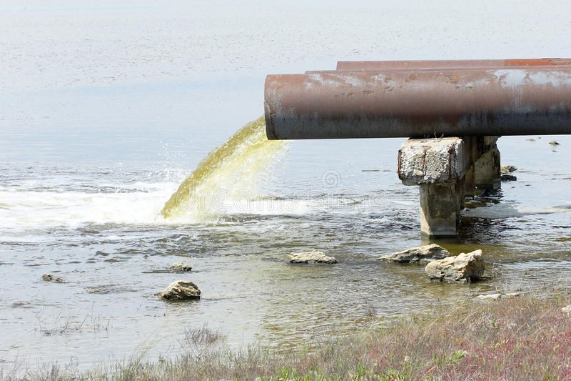 Download Sewage stock photo. Image of rust, dump, dirty, pouring - 26250444