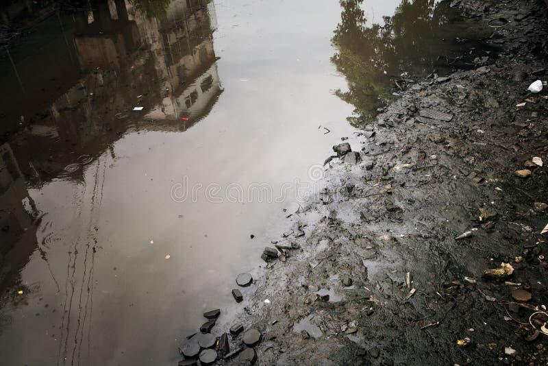 sewage image stock