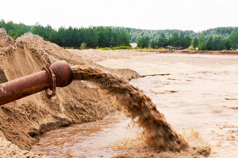 Download Sewage flowing stock image. Image of pollution, fatal - 24978417