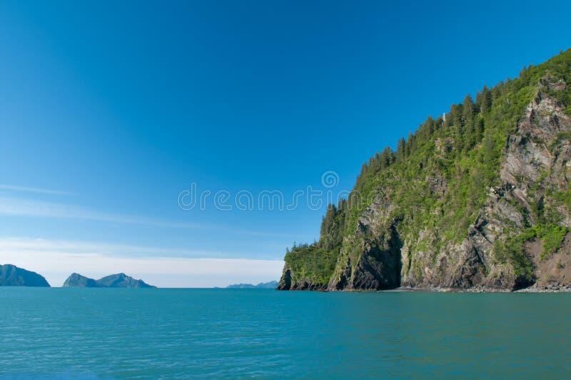 Seward zatoka zdjęcie stock
