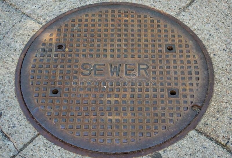 sewer obrazy stock