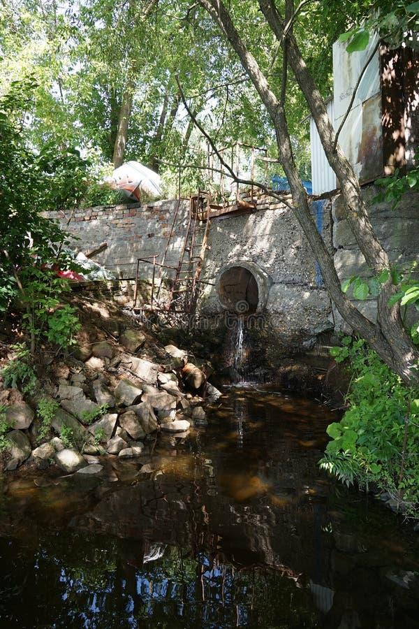 sewer fotografia royalty free