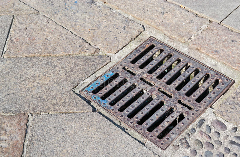 Download Sewer cover stock image. Image of background, granite - 30344241
