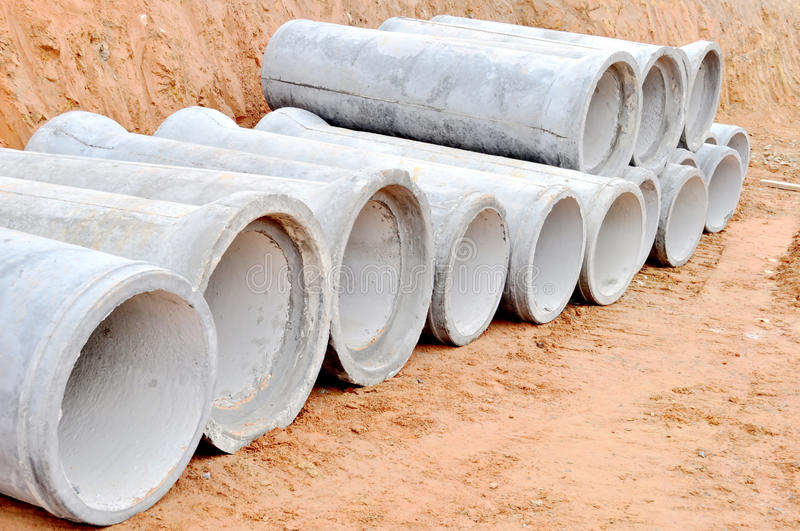 sewer pipes royalty free stock image
