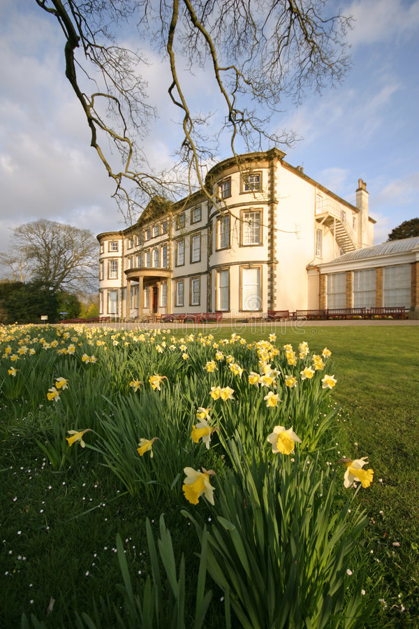 Sewerby Hall stock photo