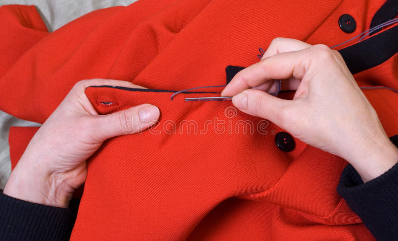 Download Sewing stock photo. Image of backing, fabric, flathead - 13302956