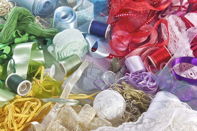 Sewing stock images