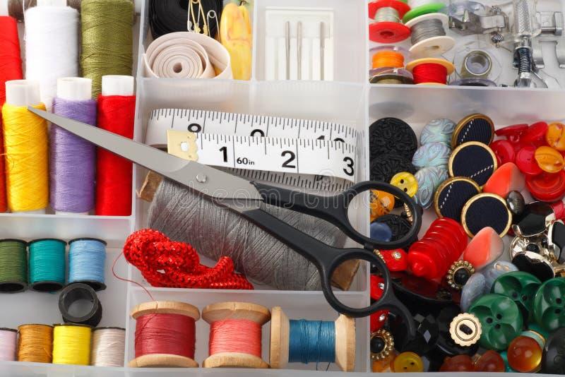 Download Sewing Accessories stock photo. Image of scissors, bobbin - 13381652
