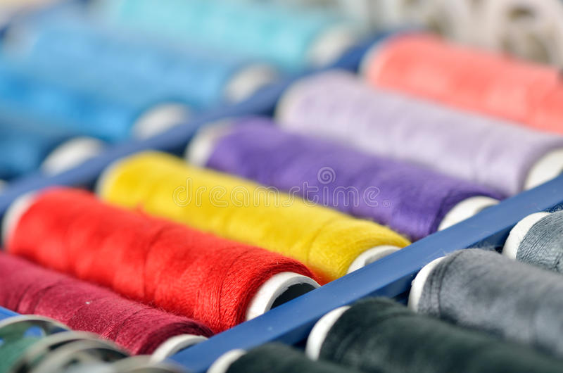 Download Sewing accessories stock image. Image of pink, colour - 28758335