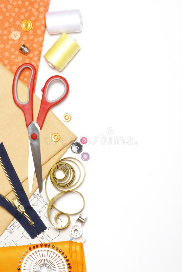 Free Sewing Background Stock Photo - 32749830