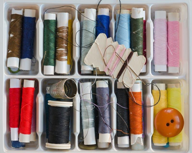 Sewing Box Stock Photo