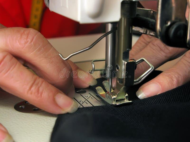 Sewing da mão imagem de stock royalty free