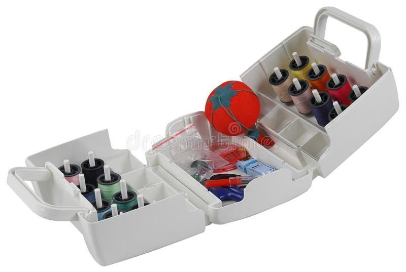 Download Sewing kit. stock image. Image of sewing, fashion, needlecraft - 12384177