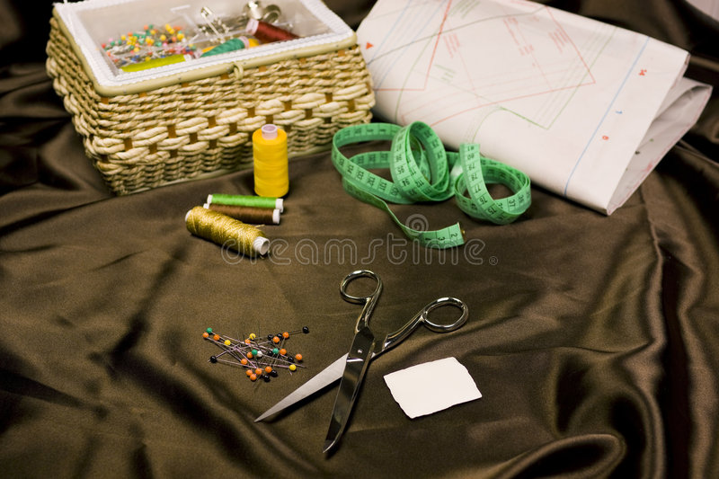 Download Sewing kit stock photo. Image of cutting, craft, home - 7869380