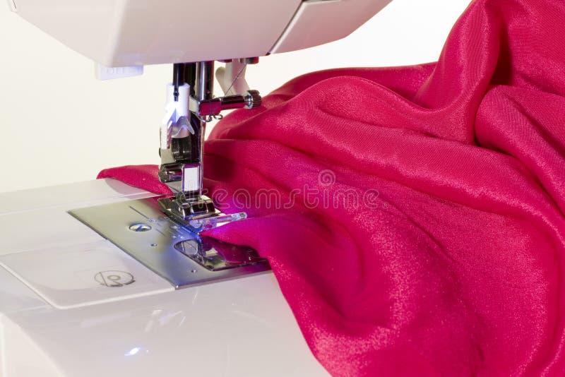 Sewing machine. Close up of sewing machine stock photo