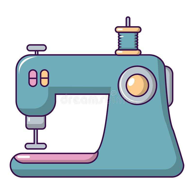 Free Sewing Machine Icon, Cartoon Style Royalty Free Stock Photos - 120415258