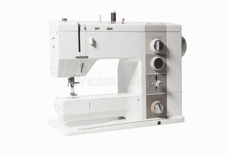 Sewing machine isolated royalty free stock images