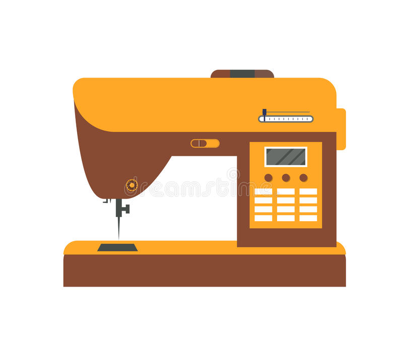 Sewing Machine. Vector royalty free illustration