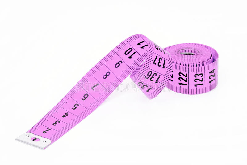 Sewing Measuring Tape Royalty Free Stock Images