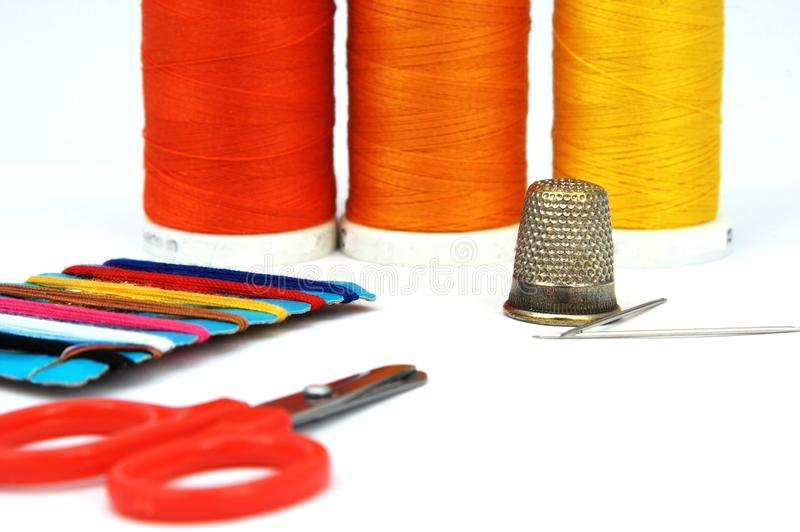 Sewing Set Stock Images