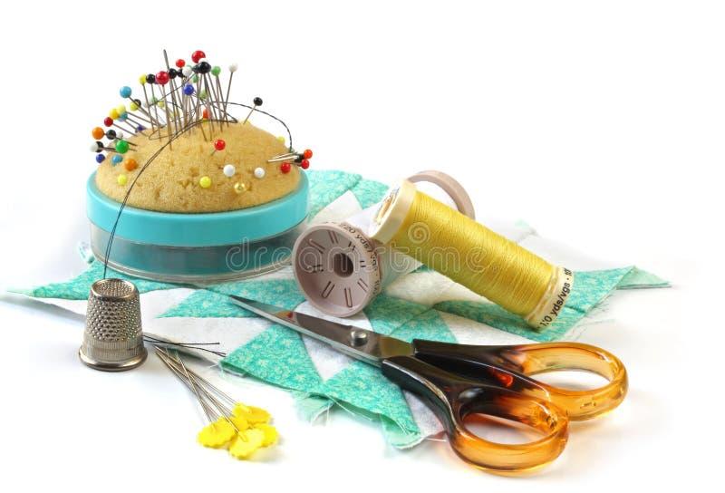Sewing Stuff royalty free stock photos